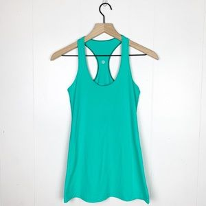 Lululemon Cool Racerback Tank Mint Green